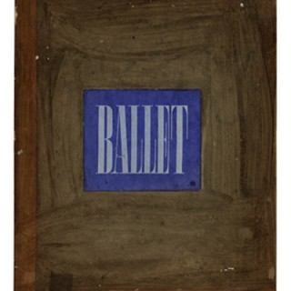 Brodovitch, Alexey: BALLET. 104 Photographs by Alexey Brodovitch. J. J. Augustin, 1945. In Publishers Slipcase