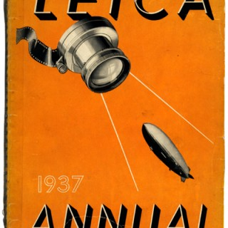 LEICA 1937 PHOTO ANNUAL. Designed by Barbara Morgan. Gravure plates via Beck Engraving, 1936.