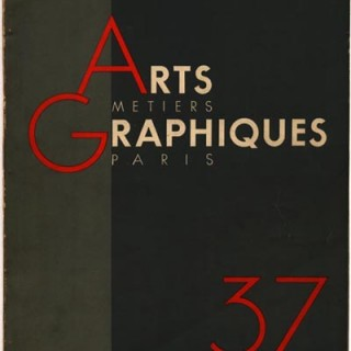 ARTS ET METIERS GRAPHIQUES no. 37, September 1933.  Andre Kertesz Distortions, Max Fleischer, Walt Disney