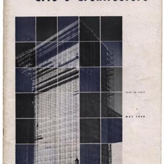 ARTS AND ARCHITECTURE, May 1949. Cover design by Charles Kratka.