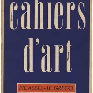 CAHIERS D'ART, Nos. 3 – 10, 1938. Paris: Christian Zervos. 120 full-page plates by Pablo Picasso.