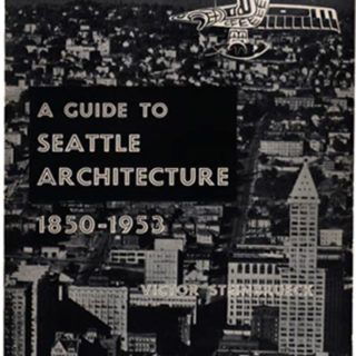 Steinbrueck, Victor: A GUIDE TO SEATTLE ARCHITECTURE 1850 – 1953. New York: Reinhold Publishing Corp., 1953.