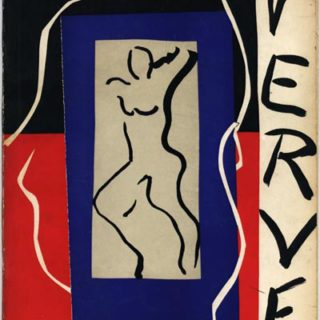 VERVE, Volume 1, No. 1: December 1937. An Artistic and Literary Quarterly.  Paris: E. Teriade, Directeur.