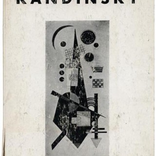 KANDINSKY: Hilla Rebay. New York Solomon R. Guggenheim Foundation, 1945. Morton Goldsholl's copy