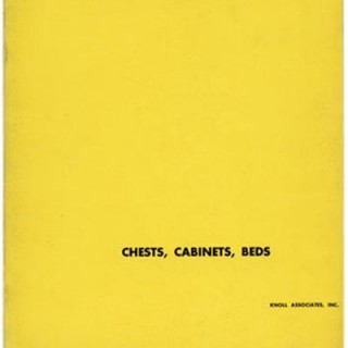 KNOLL Associates, Herbert Matter (Designer): CHESTS, CABINETS, BEDS. New York: Knoll Associates, Inc., 1950.