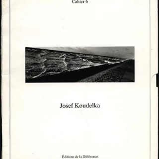 Koudelka, Josef: MISSION PHOTOGRAPHIQUE TRANSMANCHE. Cahier 6. Editions de la Difference, 1989.
