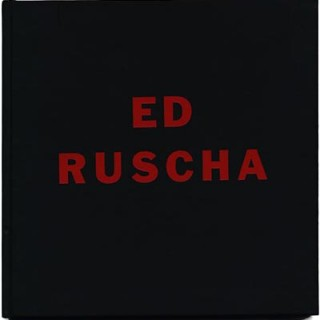 Ruscha, Ed: ED RUSCHA. New York: Robert Miller Gallery with the cooperation of the Leo Castelli Gallery, 1987