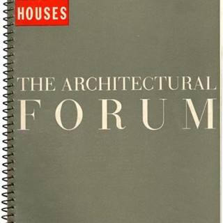 ARCHITECTURAL FORUM, July 1940. LIFE Houses: a building program of 8 new house designs.