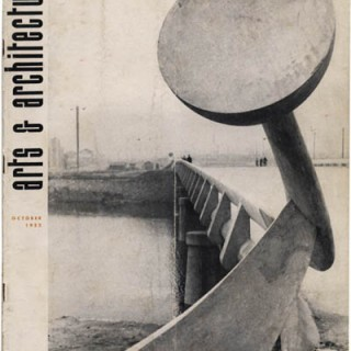 ARTS AND ARCHITECTURE, October 1952. John Entenza [Editor]. Isamu Noguchi: Projects In Japan; Otto Kolb