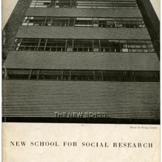 Brodovitch, Alexey: NEW SCHOOL FOR SOCIAL RESEARCH ART CLASSES 1941-1942. New School For Social Research, 1941