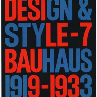 BAUHAUS AND NEW TYPOGRAPHY [Design and Style 7]. Heller & Chwast. Mohawk Papers with The Pushpin Group, 1992.