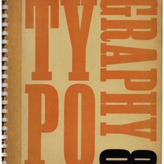 TYPOGRAPHY 8, Summer 1939. Edited by Robert Harling with James Shand & Ellic Howe. London: The Shenval Press.