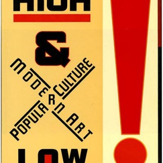 Varnedoe and Gopnick: HIGH AND LOW: MODERN ART AND POPULAR CULTURE. New York: Museum of Modern Art, 1990.