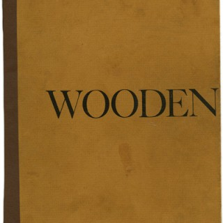 WOODENWORKS — FURNITURE OBJECTS BY 5 CONTEMPORARY CRAFTSMEN, 1972. Carpenter, Castle, Esherick, Maloof . . .