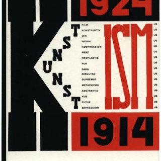 Arp and El Lissitzsky: THE ISMS OF ART. Baden: Verlag Arthur Muller, 1990. [1925 Zurich edition reprint].