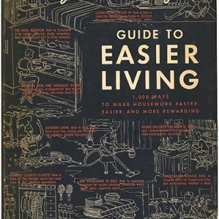 Wright, Mary and Russel: GUIDE TO EASIER LIVING. New York: Simon and Schuster, 1954. Second, revised edition.