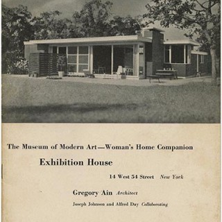 Ain, Gregory: THE MUSEUM OF MODERN ART — WOMAN'S HOME COMPANION EXHIBITION HOUSE. New York, May 1950.