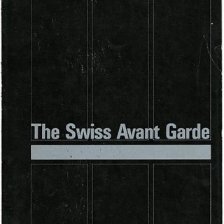 SWISS AVANT GARDE, THE. Zurich: Pro Helvetica Foundation, 1971. Donald H. Karshan [introduction].