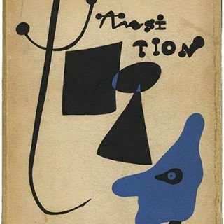 TRANSITION: A QUARTERLY REVIEW No. 25. New York: Eugene Jolas, Fall, 1936. Cover by Joan Miró.