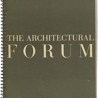 ARCHITECTURAL FORUM May 1938. Carl Milles, FSA / Public Housing and WPA Murals.