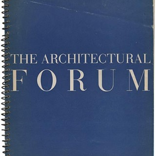 ARCHITECTURAL FORUM October 1938. Victorine & Samuel Homsey, Carl Milles, Richard Neutra, Ralph Rapson
