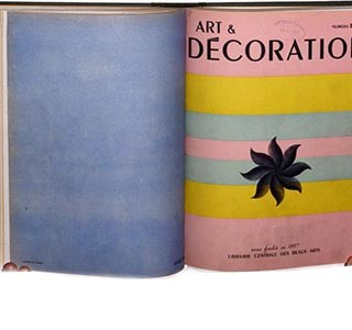 ART ET DECORATION. Paris: Librairie Centrale des Beaux-Arts, Nos. 7 – 12 [4th trimestre 1947 – 1st trimestre 1949].