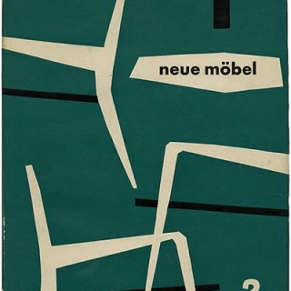 Hatje, Gerd [Editor]: NEW FURNITURE 2 [NEW FURNITURE / NEUE MOBEL  /MUEBLES NOUVEAUX]. Stuttgart: Gerd Hatje Verlag GmbH, 1953.