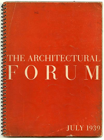 ARCHITECTURAL FORUM OCTOBER 1952 10-52 ALL ABOUT SCHOOLS UNITED NATIONS MID CENT