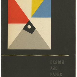 Kauffer, E. McKnight: DESIGN AND PAPER No. 29 [POSTERS BY E. McKNIGHT KAUFFER]. New York: Marquardt & Company Fine Papers, n.d. [c. 1948].