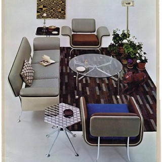 Girard, Alexander: GIRARD GROUP: HERMAN MILLER. Zeeland, MI: The Herman Miller Furniture Company, [1967]. Poster.