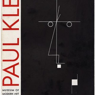 KLEE, Paul. Alfred H. Barr, Jr.: PAUL KLEE. New York: Museum of Modern Art, March 1930. First Edition [1,000 copies].