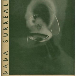 FANTASTIC ART DADA SURREALISM. New York: Museum of Modern Art, July 1937. Second Edition. Alfred H. Barr, Jr. Original MoMA exhibition handbill laid in.