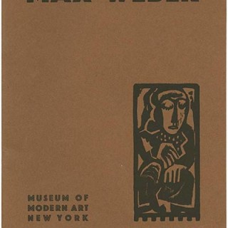 WEBER, Max. Museum of Modern Art: MAX WEBER RETROSPECTIVE EXHIBITION 1907 – 1930. First Edition [1,000 copies], March 1930. Alfred H. Barr, Jr.