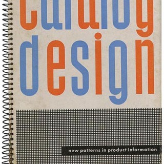Sutnar, Ladislav and Knud Lönberg-Holm: CATALOG DESIGN: NEW PATTERNS IN PRODUCT INFORMATION. New York: Sweet's Catalog Service, 1944.