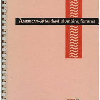 Sutnar, Ladislav and and K. Lönberg-Holm: AMERICAN-STANDARD PLUMBING FIXTURES. New York & Pittsburgh: Sweet's Catalog Service, for the American Radiator & Standard Sanitary Corporation, 1950.