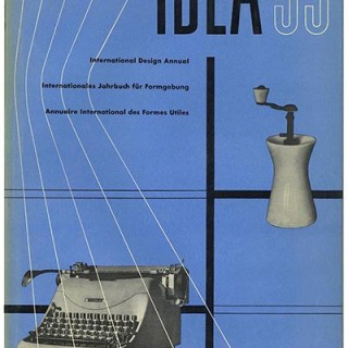 Hatje, Gerd [Editor]: IDEA 53 [International Design Annual. Internationales Jahrbuch Für Formgebung. Annuaire International Des Formes Utiles]. Stuttgart: Verlag Gerd Hatje GmbH, 1952.