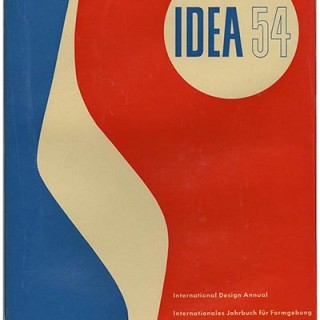 Hatje, Gerd [Editor]: IDEA 54 [International Design Annual. Internationales Jahrbuch Für Formgebung. Annuaire International Des Formes Utiles]. Stuttgart: Verlag Gerd Hatje GmbH, 1953.