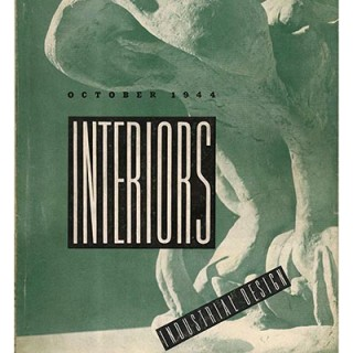 INTERIORS + INDUSTRIAL DESIGN: October 1944. Lilian Swann Saarinen; Alexander Girard for Detrola; Edward J. Wormley; George Farkas; Lester Tichy .