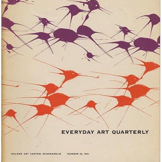EVERYDAY ART QUARTERLY No. 26: Minneapolis: Walker Art Center, 1953. 20th Century Ballet Design and Well-Designed Domesticity
