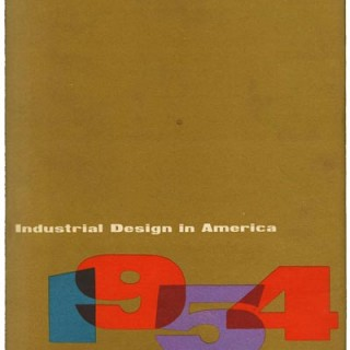 Lustig, Alvin [Designer]: INDUSTRIAL DESIGN IN AMERICA 1954. New York: Farrar, Straus & Young, Inc., 1954.