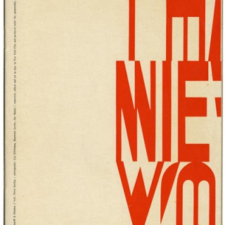 Brownjohn, Chermayeff and Geismar [design]: THAT NEW YORK. New York: The Composing Room, 1960. Text by Percy Seitlin.