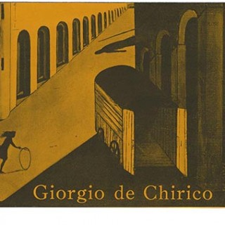 DE CHIRICO. GIORGIO DE CHIRICO: EXHIBITION OF EARLY PAINTINGS. New York: Pierre Matisse Gallery, 1940.