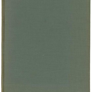 Hitchcock, Henry-Russell, Jr. and Catherine K. Bauer: MODERN ARCHITECTURE IN ENGLAND. Museum of Modern Art, 1937. First edition [3,000 copies].