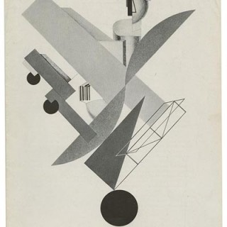 LISSITZKY. THE MUSEUM OF MODERN ART BULLETIN. New York: Museum of Modern Art, 1944. First edition [MoMA Bulletin, V. 12, No. 2].