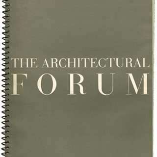 ARCHITECTURAL FORUM May 1939. PLUS 3 designed by Herbert Matter bound-in [as issued].
