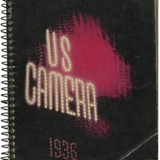 Brodovitch, Alexey [Cover Designer]: U. S. CAMERA 1936. New York: William Morrow and Co., 1936.