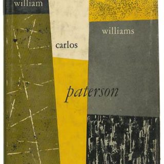 LUSTIG, ALVIN. William Carlos Williams: PATERSON. New York: New Directions, 1951. First New Classics edition [n. c. 26].
