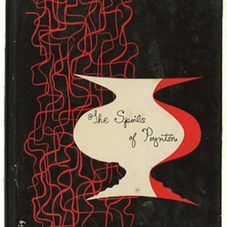 LUSTIG, ALVIN. Henry James: THE SPOILS OF POYNTON. New York: New Directions, n. d., n. a. p. [circa 1947].