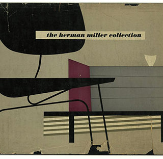 HERMAN MILLER. George Nelson [introduction]: THE HERMAN MILLER COLLECTION [Furniture Designed by George Nelson and Charles Eames, with occasional pieces by Isamu Noguchi, Peter Hvidt and O. M. Neilsen]. Zeeland, MI: Herman Miller Furniture Co., 1952.