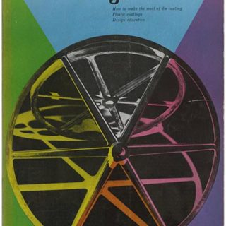 INDUSTRIAL DESIGN 3, June 1955. New York: Whitney Publications, Inc., [Vol. 2, No. 3]. Lester Beall and the Torrington Design Program.